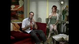 Detective from morality police learnt from TV news that notorious porn director had been arrested and proposed his redhaired wife with big boobs Elizabeth X to mark that event