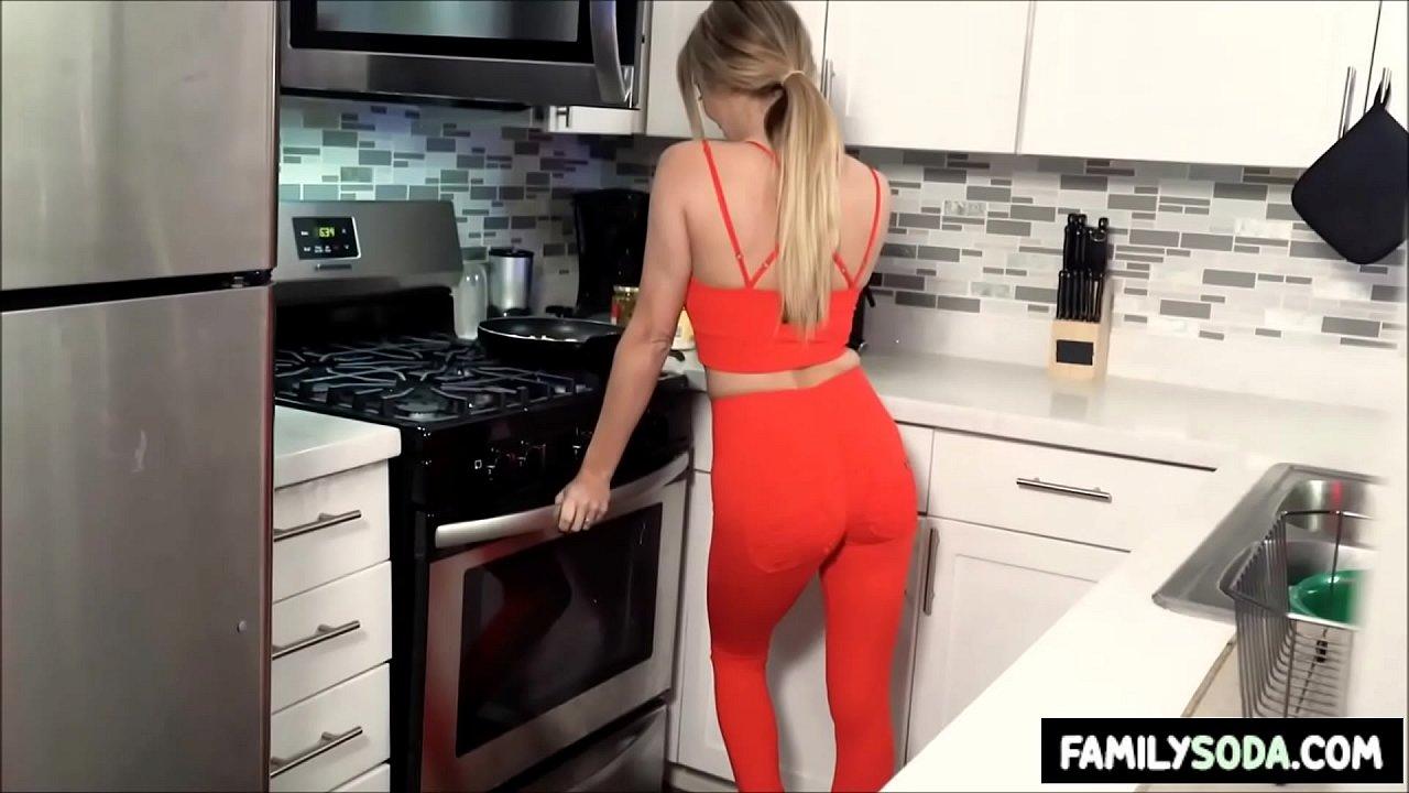 Homemade Step Mom Fucks Son