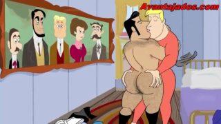 Desenhos porno gay