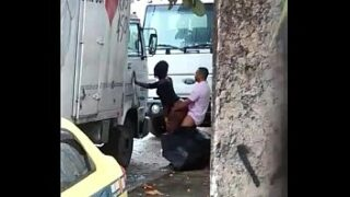 Sexo na rua real