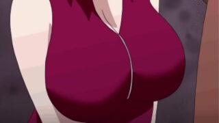 Sakura e  naruto rule 34