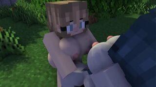 Minecraft giantess